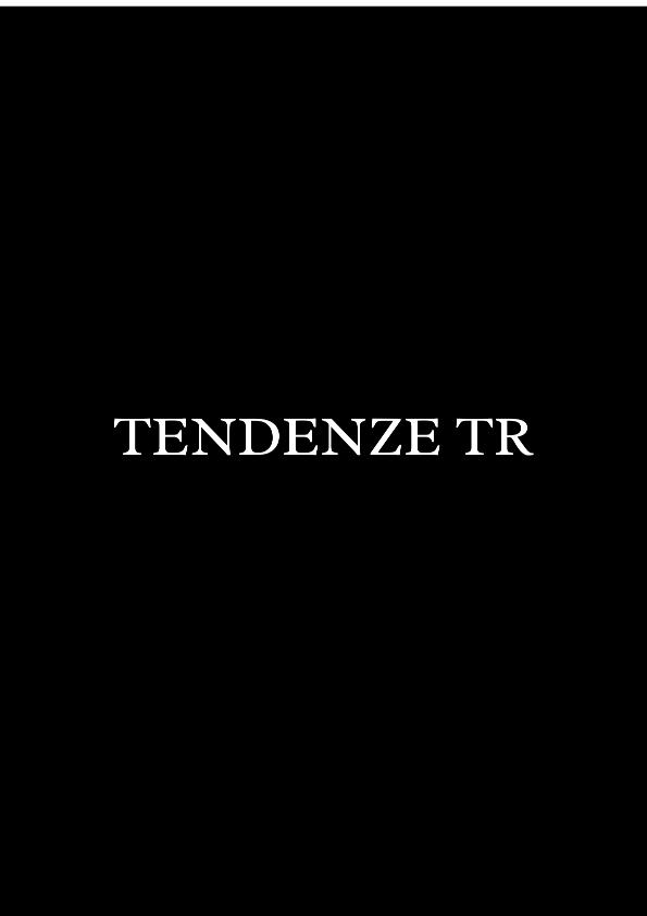 TENDENZE TR