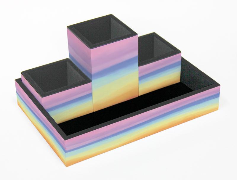 Galeria de imagens Organizador de mesa Tie Dye